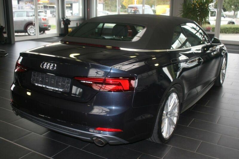 Audi A5 Cabriolet 2.0 TFSI 190CH S LINE S TRONIC 7 Bleu occasion à Villenave-d'Ornon - photo n°3