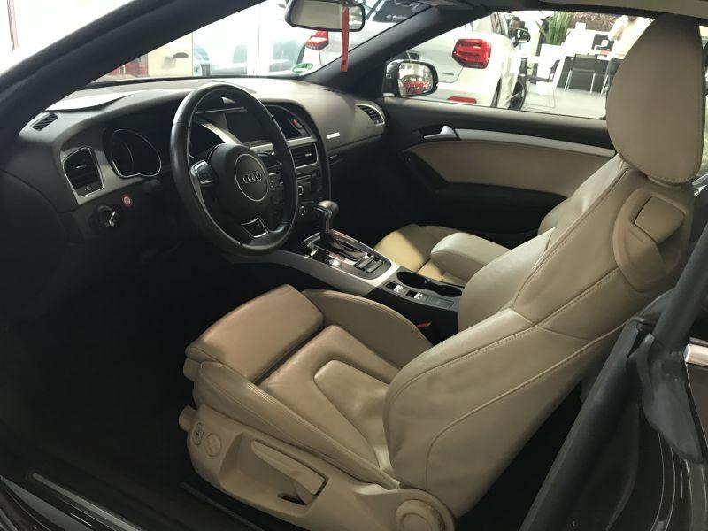 Audi A5 Cabriolet 2.0 TFSI 230 Marron occasion à Beaupuy - photo n°2