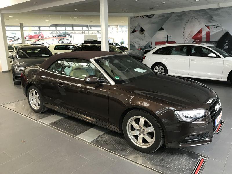 Audi A5 Cabriolet 2.0 TFSI 230 Marron occasion à Beaupuy
