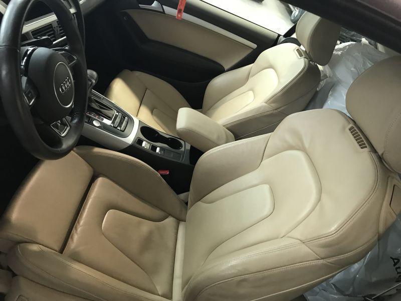Audi A5 Cabriolet 2.0 TFSI 230 Marron occasion à Beaupuy - photo n°5