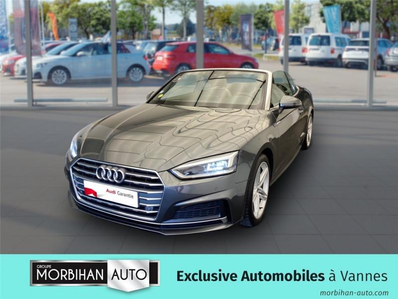 Audi A5 Cabriolet A5 Cabriolet 2.0 TDI 190 S tronic 7  occasion à Vannes