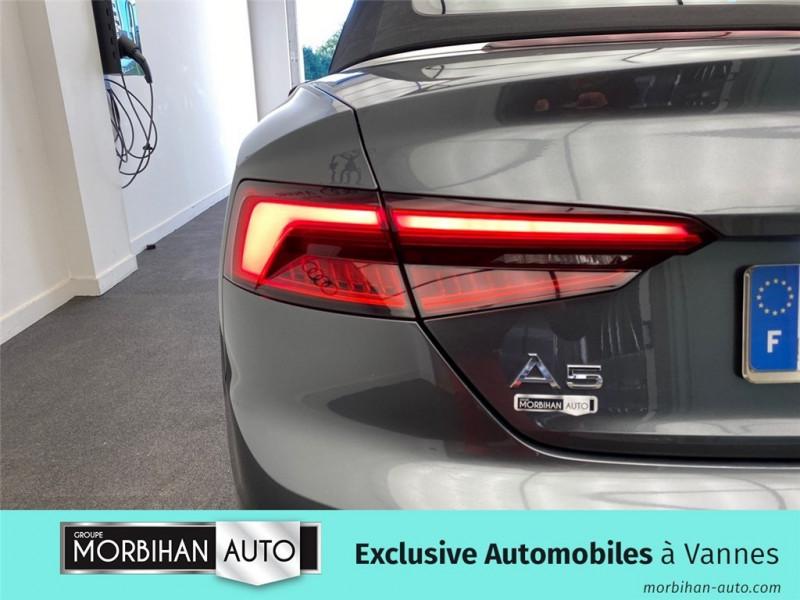 Audi A5 Cabriolet A5 Cabriolet 2.0 TDI 190 S tronic 7  occasion à Vannes - photo n°16