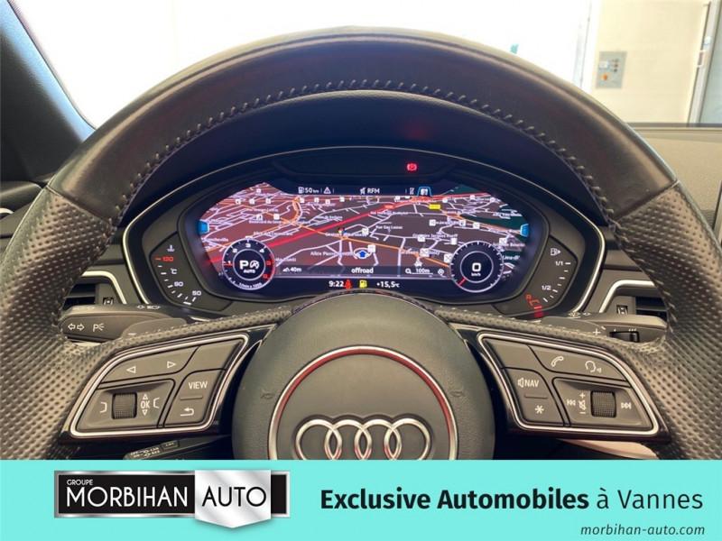Audi A5 Cabriolet A5 Cabriolet 2.0 TDI 190 S tronic 7  occasion à Vannes - photo n°8