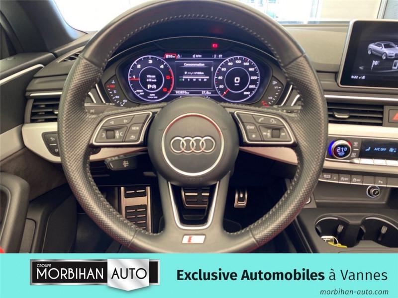 Audi A5 Cabriolet A5 Cabriolet 2.0 TDI 190 S tronic 7  occasion à Vannes - photo n°7