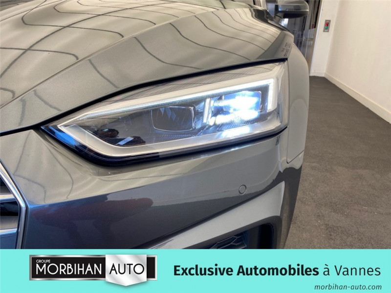 Audi A5 Cabriolet A5 Cabriolet 2.0 TDI 190 S tronic 7  occasion à Vannes - photo n°15