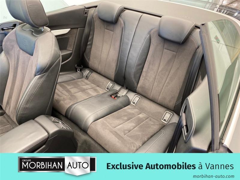 Audi A5 Cabriolet A5 Cabriolet 2.0 TDI 190 S tronic 7  occasion à Vannes - photo n°4