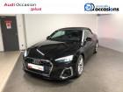 Audi A5 Cabriolet A5 Cabriolet 40 TFSI 190 S tronic 7 S Line 2p Noir à Cessy 01