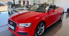 Audi A5 Cabriolet Cabriolet (2) 3.0 TFSI 272 S line QUATTRO S tronic Rouge à Saint Vincent De Boisset 42