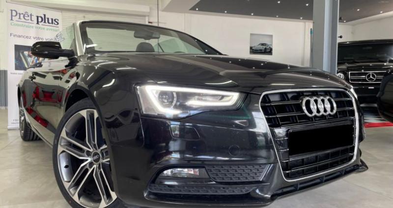 Audi A5 Cabriolet Cabriolet 2.0 tdi Nvx pneus cuir! Garantie Noir occasion à ANTIBES - photo n°3