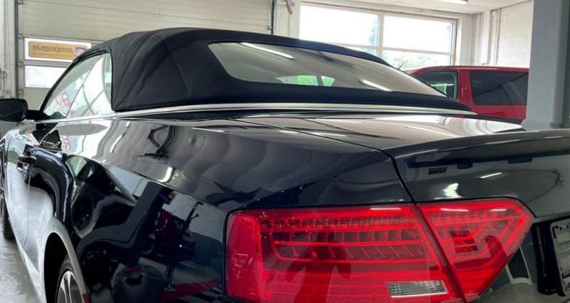 Audi A5 Cabriolet Cabriolet 2.0 tdi Nvx pneus cuir! Garantie Noir occasion à ANTIBES - photo n°4