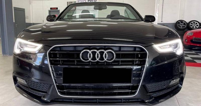 Audi A5 Cabriolet Cabriolet 2.0 tdi Nvx pneus cuir! Garantie Noir occasion à ANTIBES - photo n°5