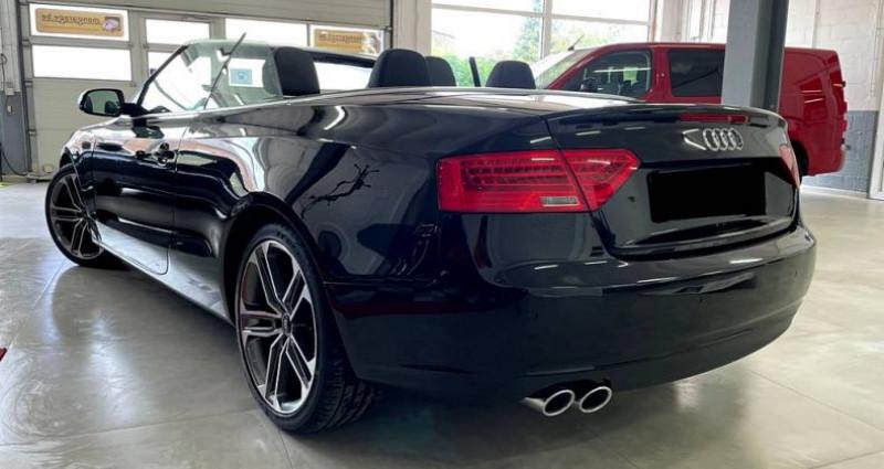 Audi A5 Cabriolet Cabriolet 2.0 tdi Nvx pneus cuir! Garantie Noir occasion à ANTIBES - photo n°7