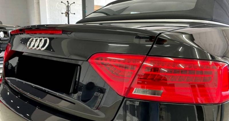 Audi A5 Cabriolet Cabriolet 2.0 tdi Nvx pneus cuir! Garantie Noir occasion à ANTIBES - photo n°2