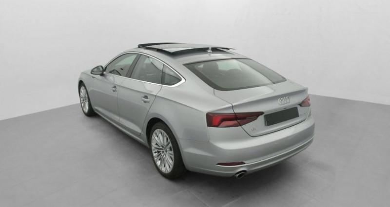 Audi A5 Sportback 2.0 TDI 150 S TRONIC 7 LUXE Gris occasion à MARSEILLE - photo n°5