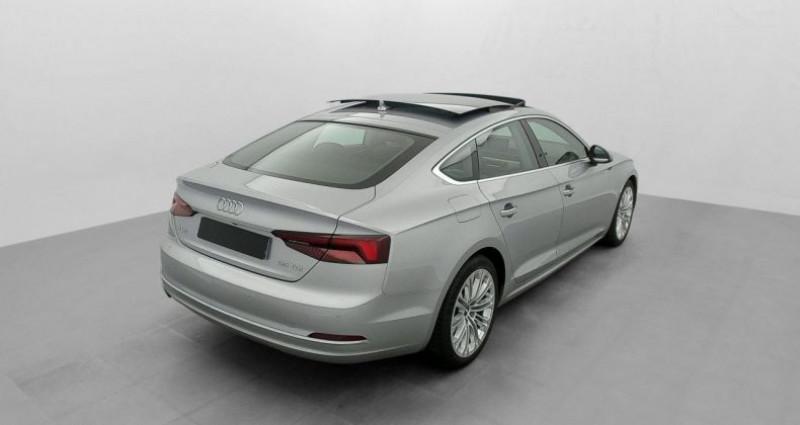 Audi A5 Sportback 2.0 TDI 150 S TRONIC 7 LUXE Gris occasion à MARSEILLE - photo n°4