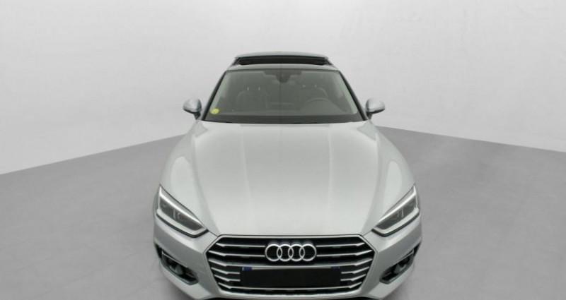 Audi A5 Sportback 2.0 TDI 150 S TRONIC 7 LUXE Gris occasion à MARSEILLE - photo n°3