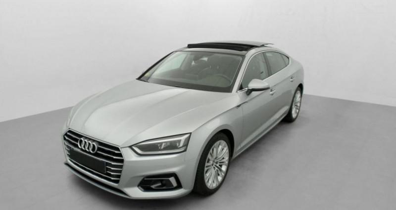 Audi A5 Sportback 2.0 TDI 150 S TRONIC 7 LUXE Gris occasion à MARSEILLE - photo n°2
