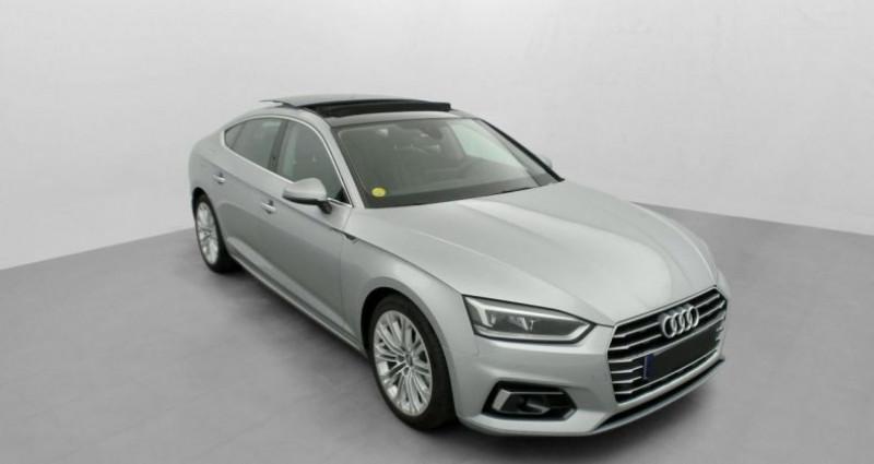 Audi A5 Sportback 2.0 TDI 150 S TRONIC 7 LUXE Gris occasion à MARSEILLE