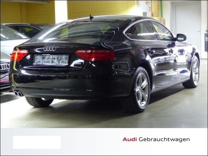 Audi A5 Sportback 2.0 TDI 177 Noir occasion à Beaupuy - photo n°3