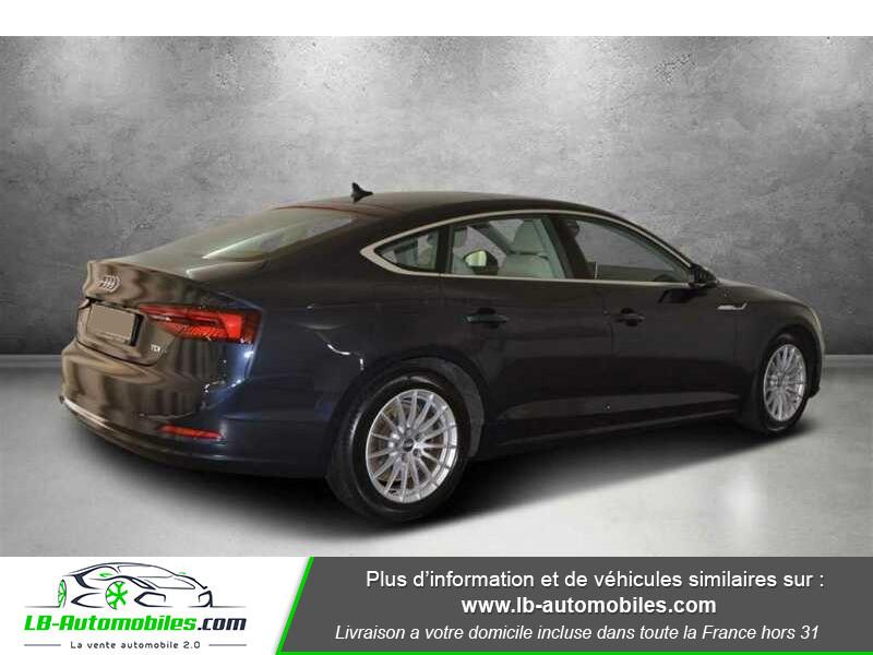Audi A5 Sportback 2.0 TDI 190 / S-Tronic Bleu occasion à Beaupuy - photo n°3