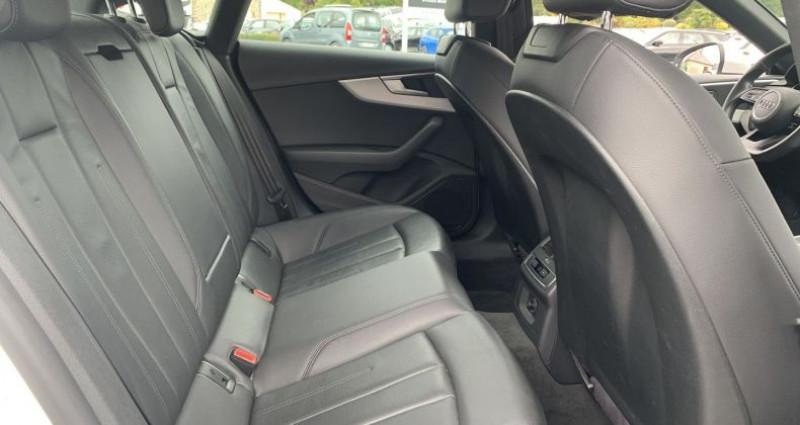 Audi A5 Sportback 2.0 TDI 190CH DESIGN Blanc occasion à GUER - photo n°6