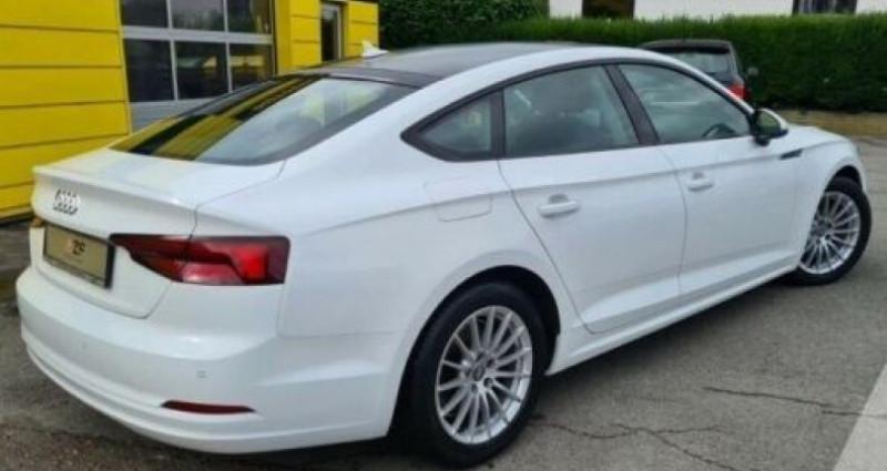 Audi A5 Sportback 2.0 TDI Blanc occasion à ARLES - photo n°2