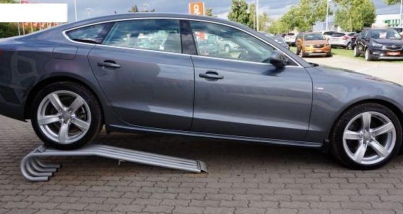 Audi A5 Sportback 2.0 TDI190 quattro SB S-Line Stronic(10/2016) Gris occasion à Saint Patrice - photo n°5