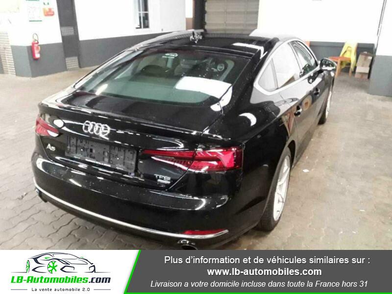 Audi A5 Sportback 2.0 TFSI 190 / S Tronic Noir occasion à Beaupuy - photo n°2