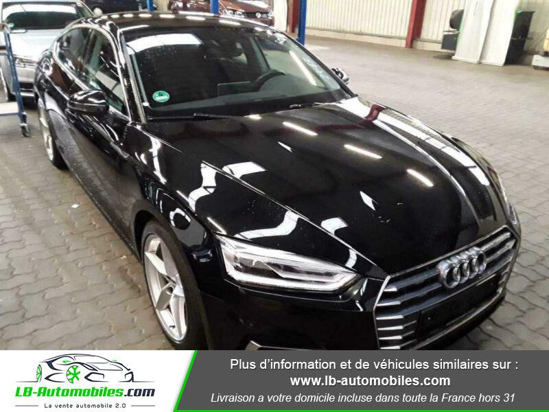 Audi A5 Sportback 2.0 TFSI 190 / S Tronic Noir occasion à Beaupuy - photo n°4