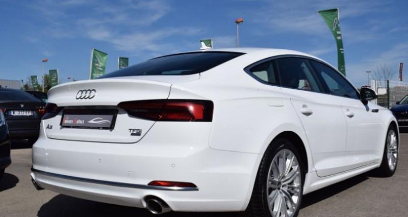 Audi A5 Sportback 2.0 TFSI 190CH BUSINESS LINE ESSENCE Blanc occasion à VENDARGUES - photo n°3