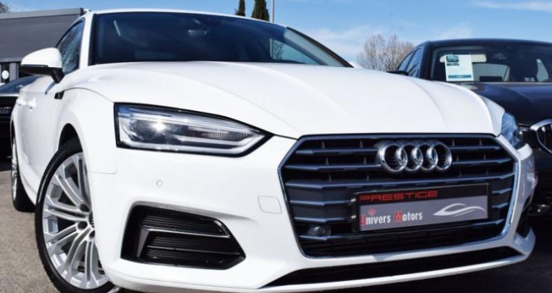 Audi A5 Sportback 2.0 TFSI 190CH BUSINESS LINE ESSENCE Blanc occasion à VENDARGUES