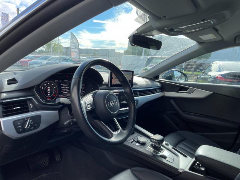 Audi A5 Sportback 2.0 TFSI 252CH ULTRA DESIGN LUXE QUATTRO S TRONIC 7 Bleu occasion à Colomiers - photo n°5