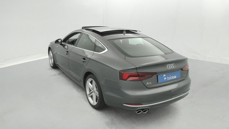 Audi A5 Sportback 3.0 TDI 272ch S line Quattro Tiptronic + Toit ouvrant Gris occasion à SAINT-GREGOIRE - photo n°3