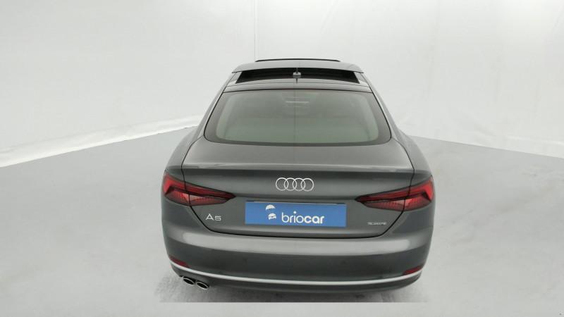 Audi A5 Sportback 3.0 TDI 272ch S line Quattro Tiptronic + Toit ouvrant Gris occasion à SAINT-GREGOIRE - photo n°4