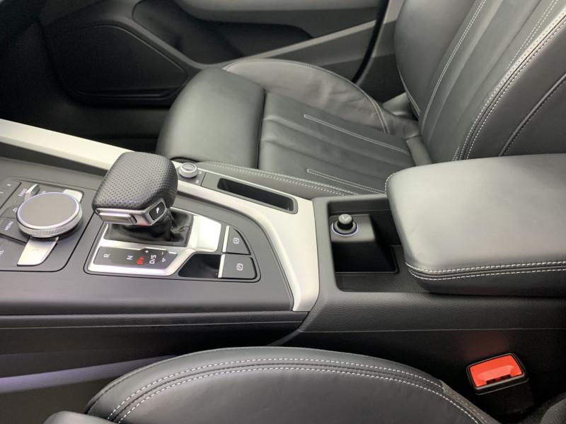 Audi A5 Sportback 3.0 TDI 272ch S line Quattro Tiptronic + Toit ouvrant Gris occasion à SAINT-GREGOIRE - photo n°12