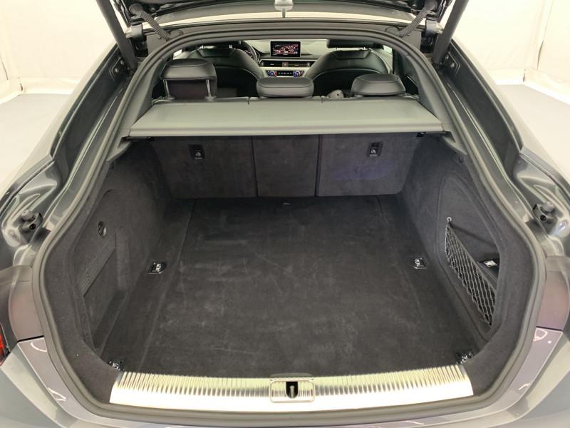 Audi A5 Sportback 3.0 TDI 272ch S line Quattro Tiptronic + Toit ouvrant Gris occasion à SAINT-GREGOIRE - photo n°20