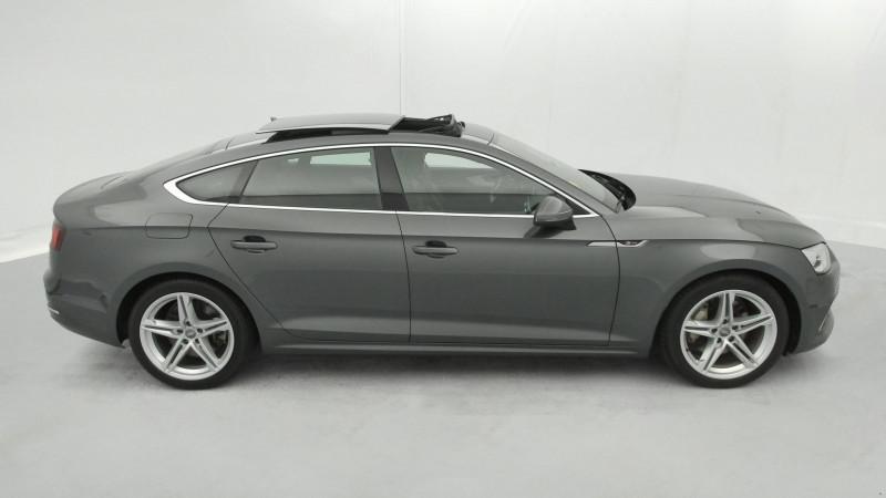 Audi A5 Sportback 3.0 TDI 272ch S line Quattro Tiptronic + Toit ouvrant Gris occasion à SAINT-GREGOIRE - photo n°6