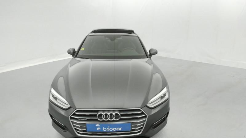 Audi A5 Sportback 3.0 TDI 272ch S line Quattro Tiptronic + Toit ouvrant Gris occasion à SAINT-GREGOIRE - photo n°8