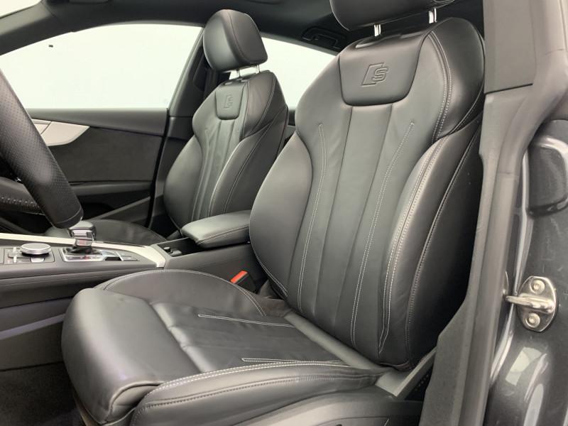 Audi A5 Sportback 3.0 TDI 272ch S line Quattro Tiptronic + Toit ouvrant Gris occasion à SAINT-GREGOIRE - photo n°9