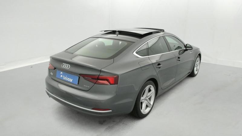 Audi A5 Sportback 3.0 TDI 272ch S line Quattro Tiptronic + Toit ouvrant Gris occasion à SAINT-GREGOIRE - photo n°5