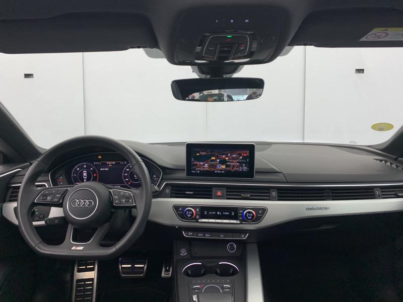Audi A5 Sportback 3.0 TDI 272ch S line Quattro Tiptronic + Toit ouvrant Gris occasion à SAINT-GREGOIRE - photo n°15