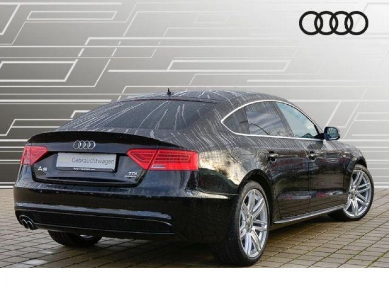 Audi A5 Sportback 3.0 TDI Quattro 218 S-Line Noir occasion à Beaupuy - photo n°3