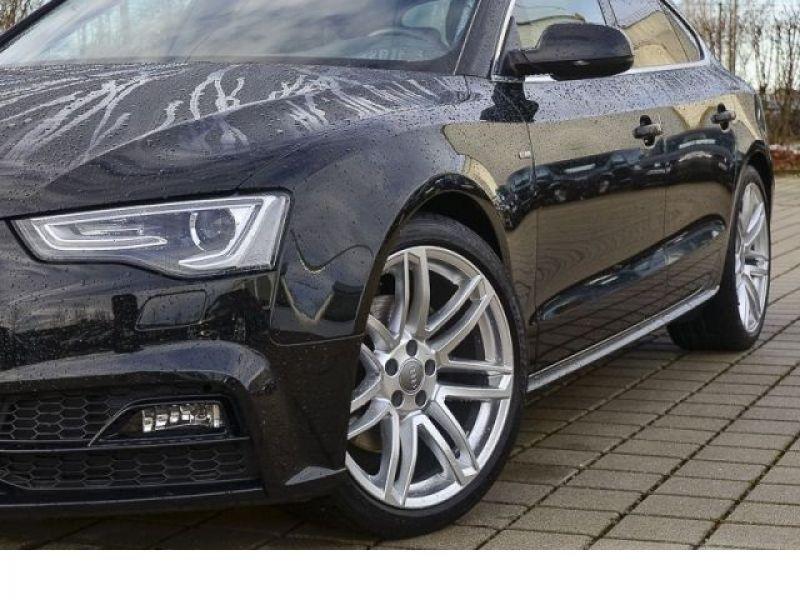 Audi A5 Sportback 3.0 TDI Quattro 218 S-Line Noir occasion à Beaupuy - photo n°8