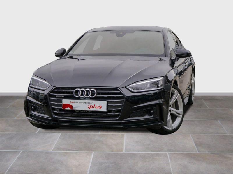 Audi A5 Sportback 3.0 TDI Quattro 272 S Line Noir occasion à Beaupuy
