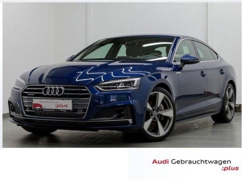Audi A5 Sportback 3.0 TDI Quattro 272 S Line Bleu occasion à Beaupuy