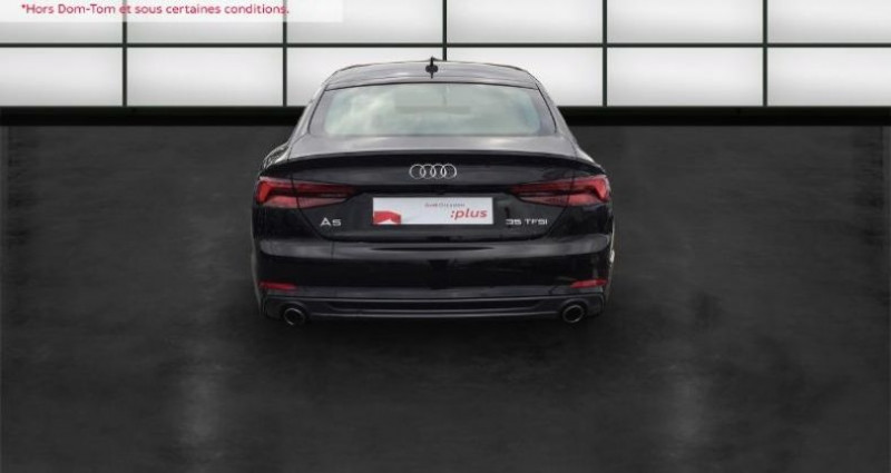 Audi A5 Sportback 35 TFSI 150ch S line S tronic 7 Euro6d-T Noir occasion à La Rochelle - photo n°4