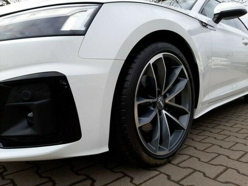 Audi A5 Sportback 40 TDI 204CH S LINE S TRONIC 7 Blanc occasion à Villenave-d'Ornon - photo n°5