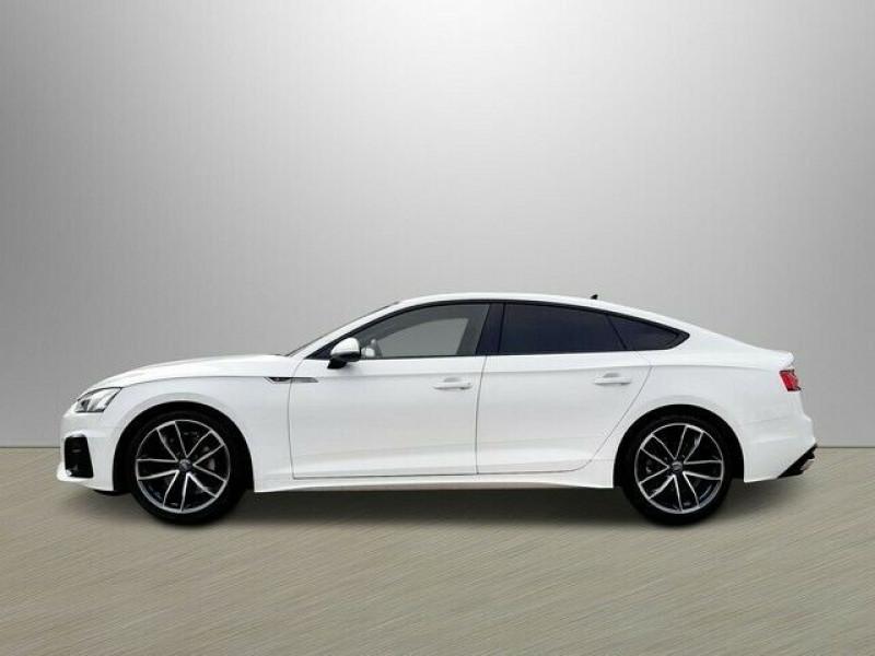 Audi A5 Sportback 40 TDI 204CH S LINE S TRONIC 7 Blanc occasion à Villenave-d'Ornon - photo n°4