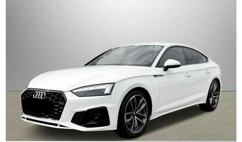 Audi A5 Sportback 40 TDI 204CH S LINE S TRONIC 7 Blanc occasion à Villenave-d'Ornon - photo n°3