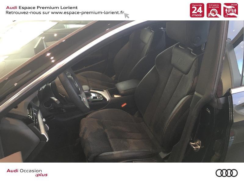 Audi A5 Sportback 40 TFSI 190ch S line S tronic 7 Euro6d-T 132g Noir occasion à Lanester - photo n°7